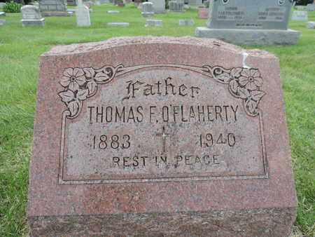 O'FLAHERTY, THOMAS F. - Franklin County, Ohio | THOMAS F. O'FLAHERTY - Ohio Gravestone Photos