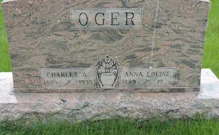 OGER, ANNA LOUISE - Franklin County, Ohio | ANNA LOUISE OGER - Ohio Gravestone Photos