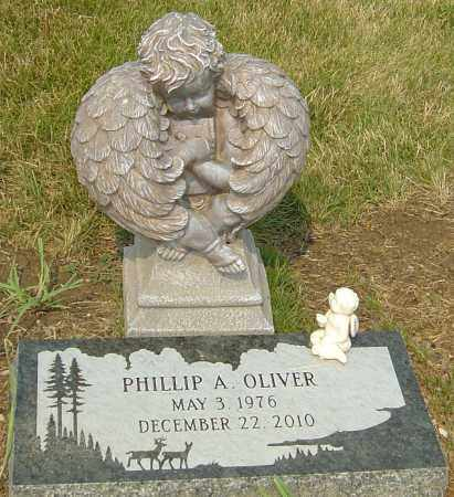 OLIVER, PHILLIP A - Franklin County, Ohio | PHILLIP A OLIVER - Ohio Gravestone Photos