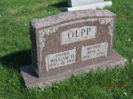 OLPP, WILLIAM HENRY - Franklin County, Ohio | WILLIAM HENRY OLPP - Ohio Gravestone Photos