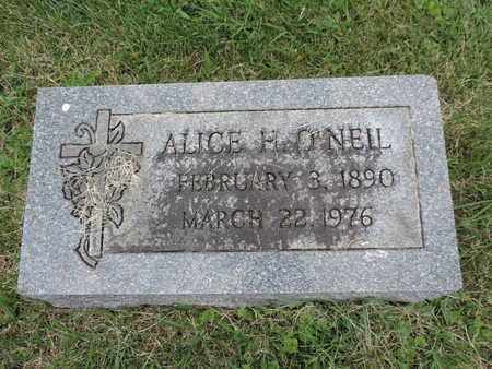 O'NEIL, ALICE H. - Franklin County, Ohio | ALICE H. O'NEIL - Ohio Gravestone Photos