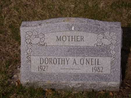 ONEIL, DOROTHY A. - Franklin County, Ohio | DOROTHY A. ONEIL - Ohio Gravestone Photos