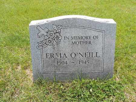 O'NEILL, ERMA - Franklin County, Ohio | ERMA O'NEILL - Ohio Gravestone Photos