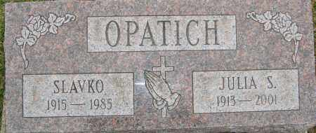 OPATICH, SLAVKO - Franklin County, Ohio | SLAVKO OPATICH - Ohio Gravestone Photos