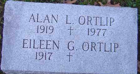 ORTLIP, ALAN - Franklin County, Ohio | ALAN ORTLIP - Ohio Gravestone Photos