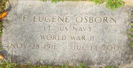 OSBORN, E EUGENE - Franklin County, Ohio | E EUGENE OSBORN - Ohio Gravestone Photos