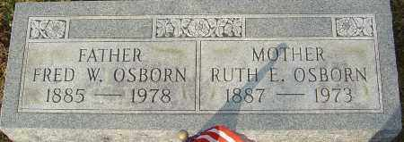 OSBORN, RUTH E - Franklin County, Ohio | RUTH E OSBORN - Ohio Gravestone Photos