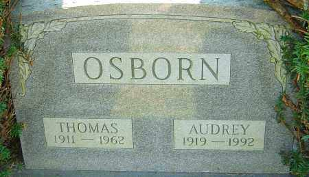 OSBORN, THOMAS - Franklin County, Ohio | THOMAS OSBORN - Ohio Gravestone Photos