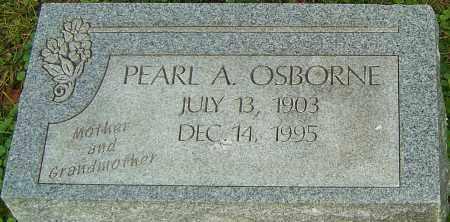 OSBORNE, PEARL - Franklin County, Ohio | PEARL OSBORNE - Ohio Gravestone Photos