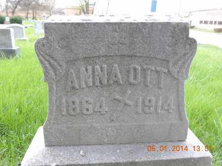 OTT, ANNA - Franklin County, Ohio | ANNA OTT - Ohio Gravestone Photos