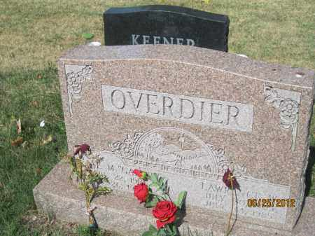 OVERDIER, OPAL MAE - Franklin County, Ohio | OPAL MAE OVERDIER - Ohio Gravestone Photos