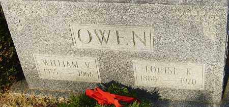 OWEN, WILLIAM V - Franklin County, Ohio | WILLIAM V OWEN - Ohio Gravestone Photos