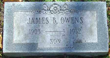 OWENS, JAMES B - Franklin County, Ohio | JAMES B OWENS - Ohio Gravestone Photos