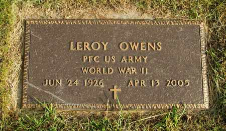OWENS, LEROY - Franklin County, Ohio | LEROY OWENS - Ohio Gravestone Photos