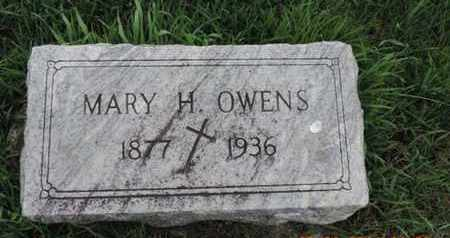 OWENS, MARY H. - Franklin County, Ohio | MARY H. OWENS - Ohio Gravestone Photos