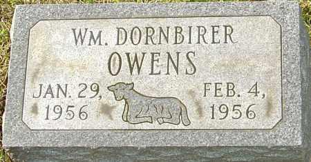 OWENS, WILLIAM DORNBIRER - Franklin County, Ohio | WILLIAM DORNBIRER OWENS - Ohio Gravestone Photos