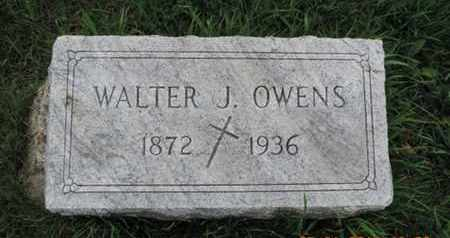 OWENS, WALTER J. - Franklin County, Ohio | WALTER J. OWENS - Ohio Gravestone Photos