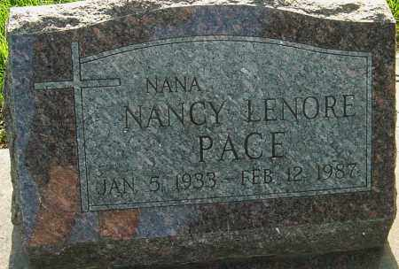 PACE, NANCY - Franklin County, Ohio | NANCY PACE - Ohio Gravestone Photos