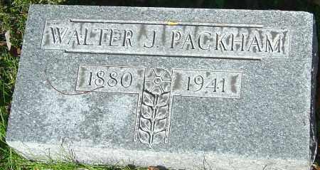 PACKHAM, WALTER JOHN - Franklin County, Ohio   WALTER JOHN PACKHAM - Ohio Gravestone Photos
