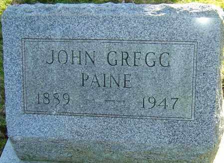 PAINE, JOHN GREGG - Franklin County, Ohio | JOHN GREGG PAINE - Ohio Gravestone Photos