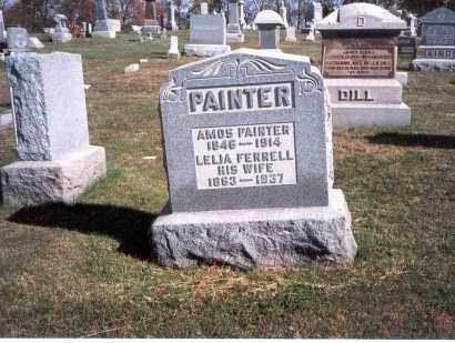PAINTER, LELIA - Franklin County, Ohio | LELIA PAINTER - Ohio Gravestone Photos