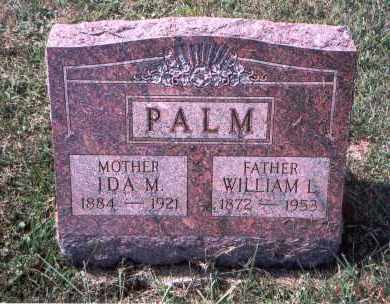 PALM, IDA M. - Franklin County, Ohio | IDA M. PALM - Ohio Gravestone Photos