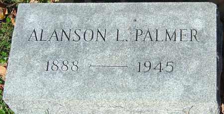 PALMER, ALANSON L - Franklin County, Ohio | ALANSON L PALMER - Ohio Gravestone Photos