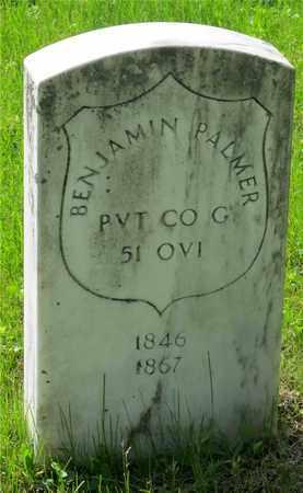PALMER, BENJAMIN - Franklin County, Ohio | BENJAMIN PALMER - Ohio Gravestone Photos