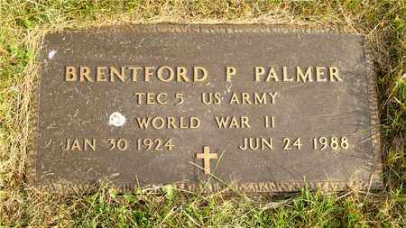 PALMER, BRENTFORD P. - Franklin County, Ohio | BRENTFORD P. PALMER - Ohio Gravestone Photos