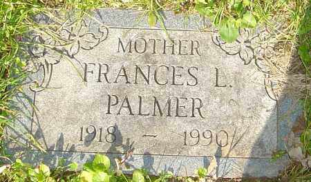PALMER, FRANCES - Franklin County, Ohio | FRANCES PALMER - Ohio Gravestone Photos