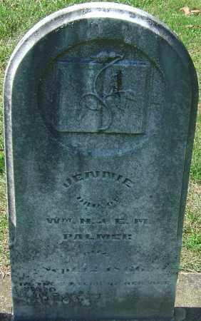 PALMER, JENNIE - Franklin County, Ohio | JENNIE PALMER - Ohio Gravestone Photos