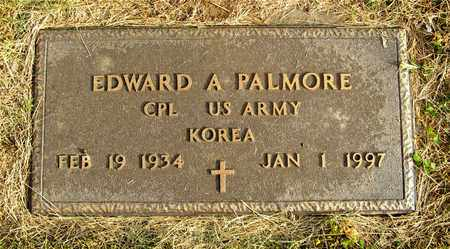 PALMORE, EDWARD A. - Franklin County, Ohio | EDWARD A. PALMORE - Ohio Gravestone Photos