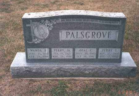 PALSGROVE, PERRY L. - Franklin County, Ohio | PERRY L. PALSGROVE - Ohio Gravestone Photos
