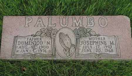 PALUMBO, DOMENICO N - Franklin County, Ohio | DOMENICO N PALUMBO - Ohio Gravestone Photos