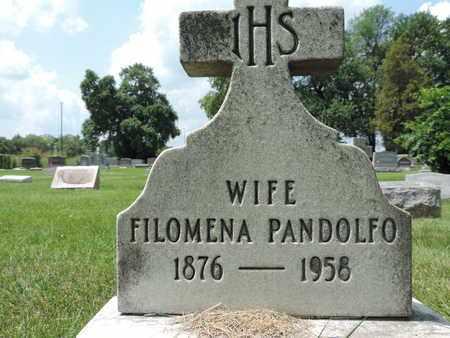 PANDOLFO, FILOMENA - Franklin County, Ohio | FILOMENA PANDOLFO - Ohio Gravestone Photos