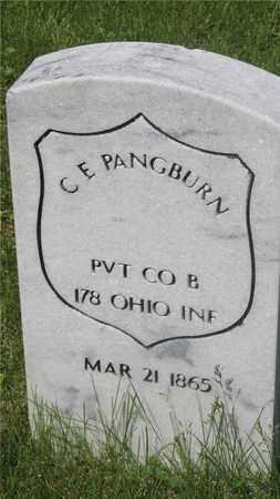PANGBURN, C.E. - Franklin County, Ohio | C.E. PANGBURN - Ohio Gravestone Photos