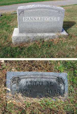 PANNABECKER, LULU M. - Franklin County, Ohio | LULU M. PANNABECKER - Ohio Gravestone Photos