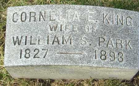 KING PARK, CORNELIA E - Franklin County, Ohio | CORNELIA E KING PARK - Ohio Gravestone Photos