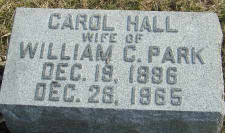 HALL PARK, CAROL - Franklin County, Ohio | CAROL HALL PARK - Ohio Gravestone Photos