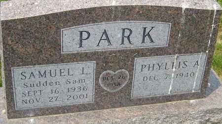 PARK, SAMUEL L - Franklin County, Ohio | SAMUEL L PARK - Ohio Gravestone Photos