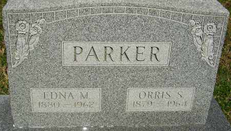 PARKER, ORRIS S - Franklin County, Ohio | ORRIS S PARKER - Ohio Gravestone Photos