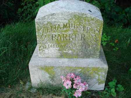 PARKER, ETTA - Franklin County, Ohio | ETTA PARKER - Ohio Gravestone Photos