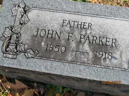 PARKER, JOHN FOSTER - Franklin County, Ohio | JOHN FOSTER PARKER - Ohio Gravestone Photos