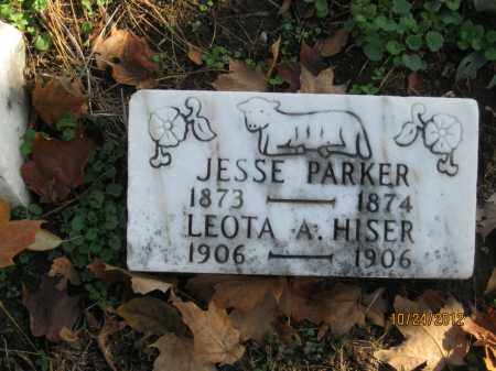 PARKER, JESSE - Franklin County, Ohio | JESSE PARKER - Ohio Gravestone Photos