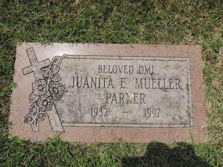 PARKER, JUANITA E. - Franklin County, Ohio | JUANITA E. PARKER - Ohio Gravestone Photos