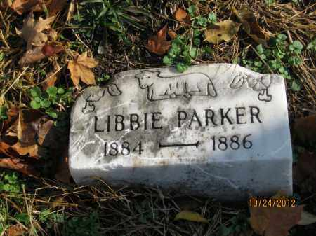 PARKER, LIBBIE - Franklin County, Ohio | LIBBIE PARKER - Ohio Gravestone Photos