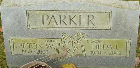 PARKER, MILTON - Franklin County, Ohio | MILTON PARKER - Ohio Gravestone Photos