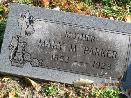 PARKER, MARY MATILDA - Franklin County, Ohio | MARY MATILDA PARKER - Ohio Gravestone Photos
