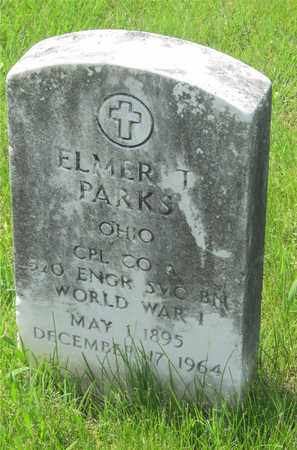 PARKS, ELMER T. - Franklin County, Ohio | ELMER T. PARKS - Ohio Gravestone Photos