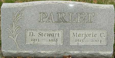 PARLET, MARJORIE C - Franklin County, Ohio | MARJORIE C PARLET - Ohio Gravestone Photos